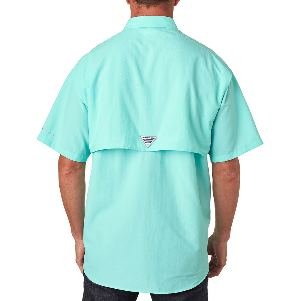 Columbia Men's Gulf Stream Green Bahama II S/S Shirt