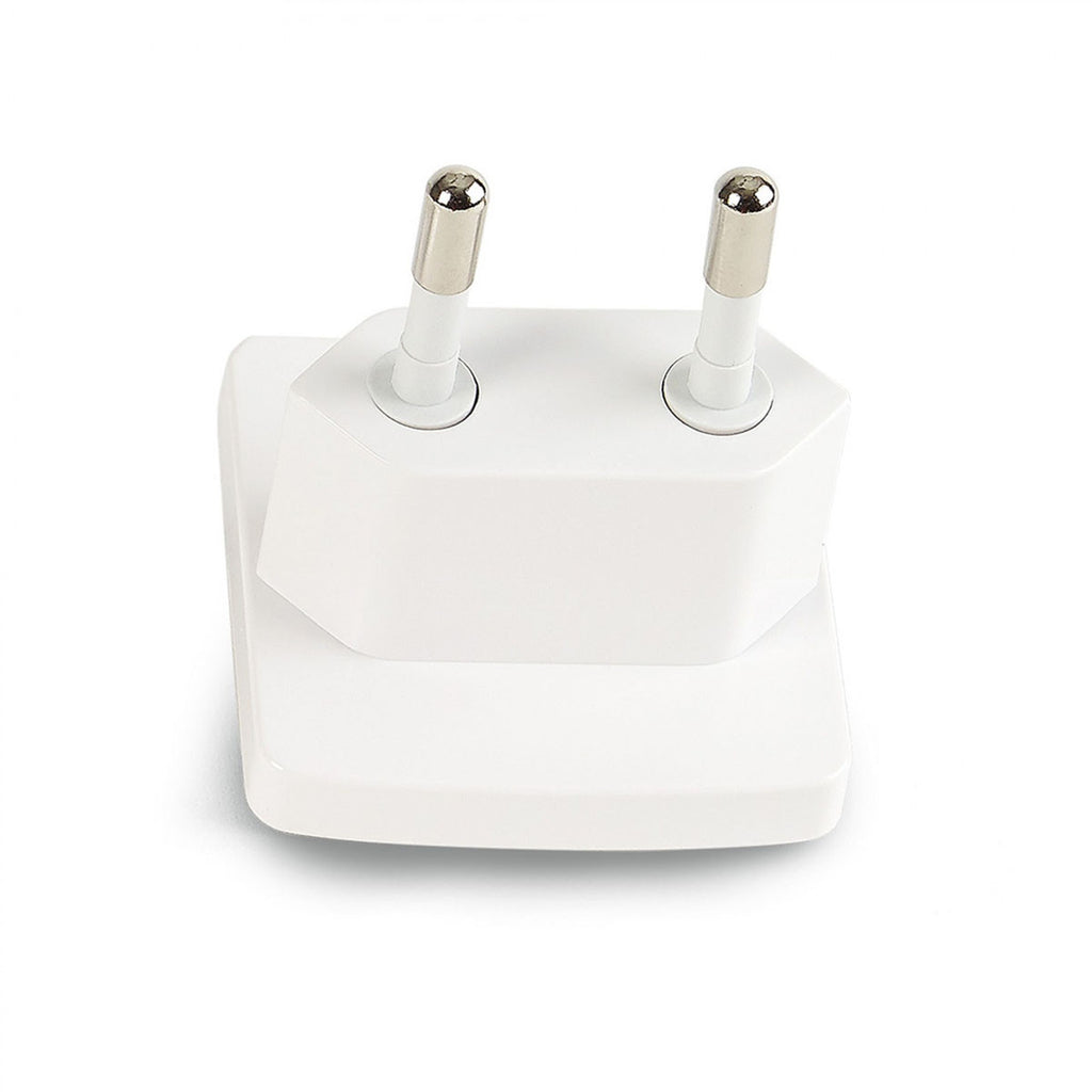 Brookstone White 3.4A Travel USB Charger