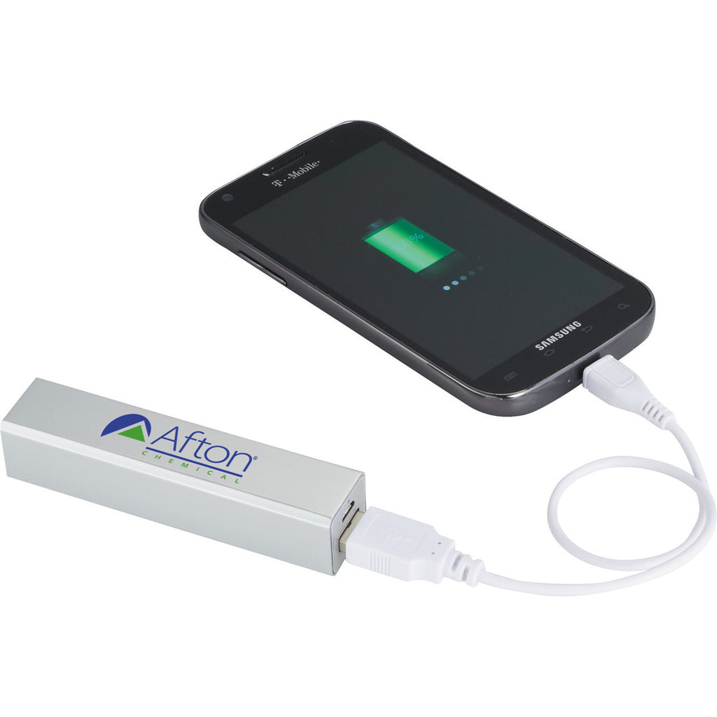 Leed's Silver Jolt 2200 mAh Power Bank