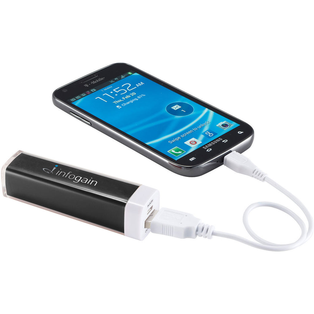 Leed's Black Amp 2,200 mAh Power Bank