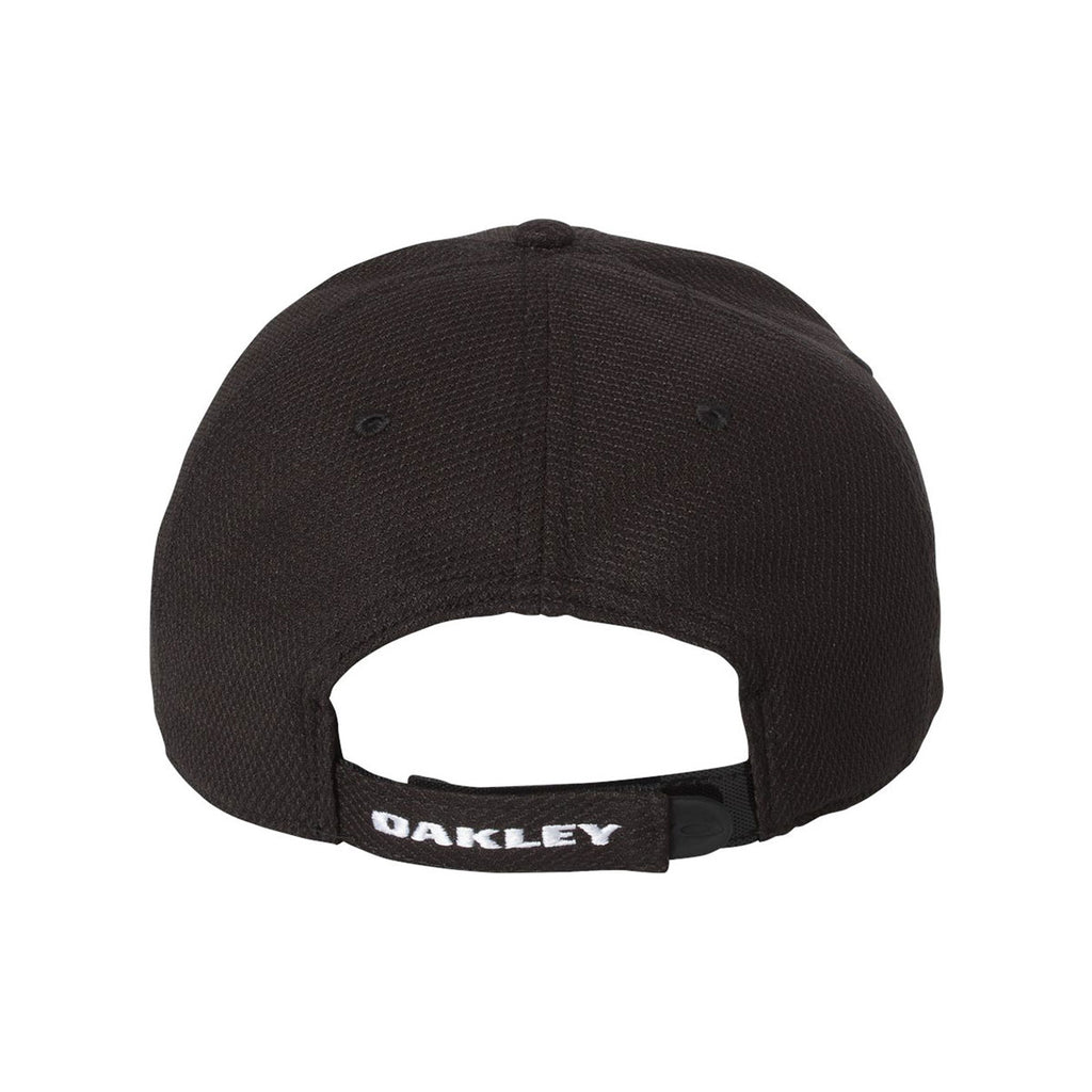 Oakley Jet Black/White Golf Ellipse Cap
