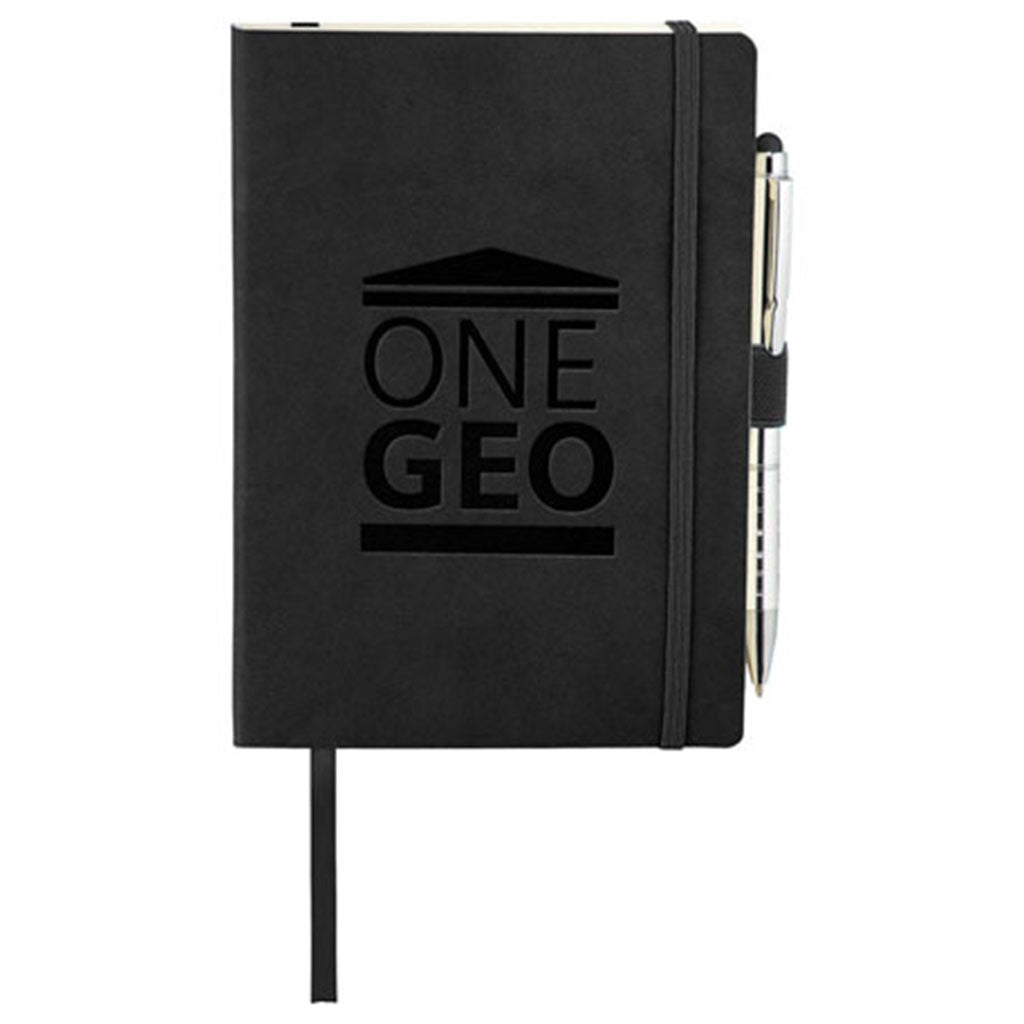 JournalBook Black Revello Soft Bound Bundle Set