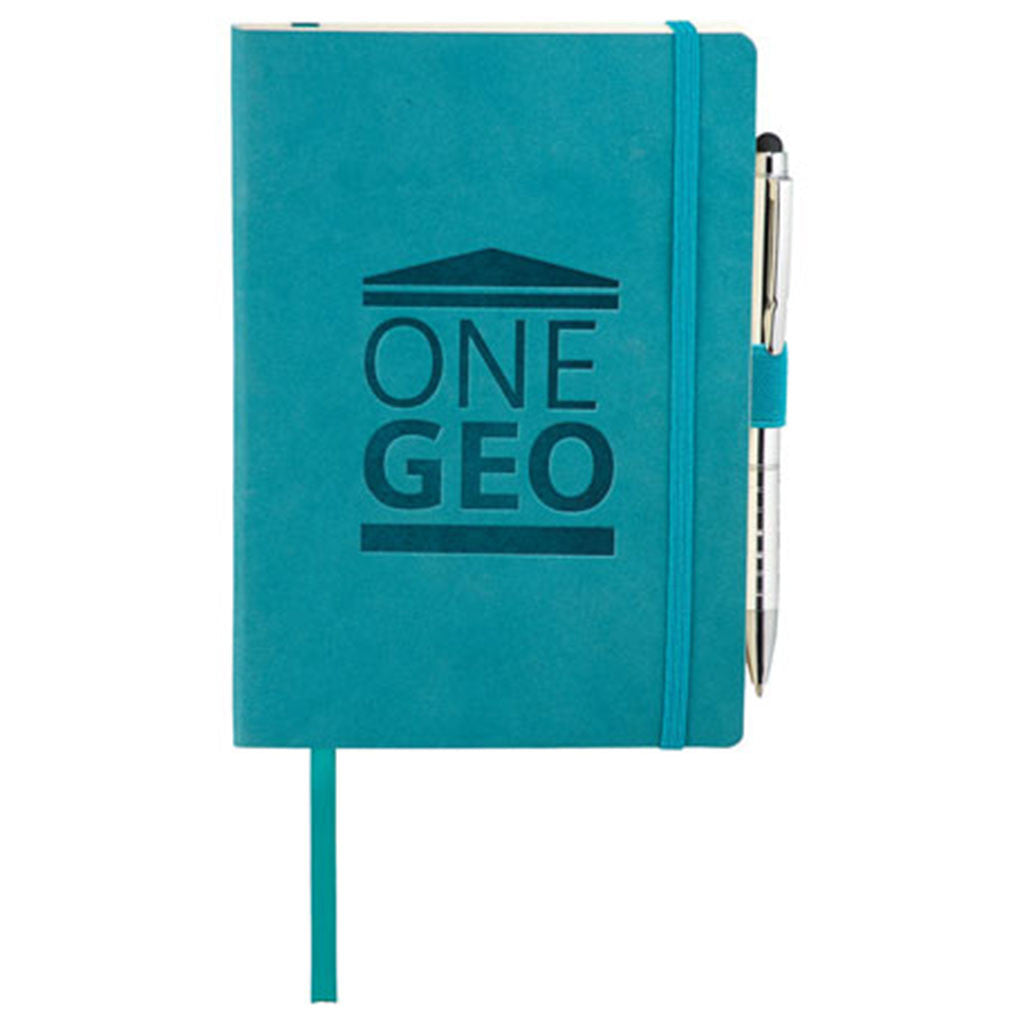 JournalBook Turquoise Revello Soft Bound Bundle Set