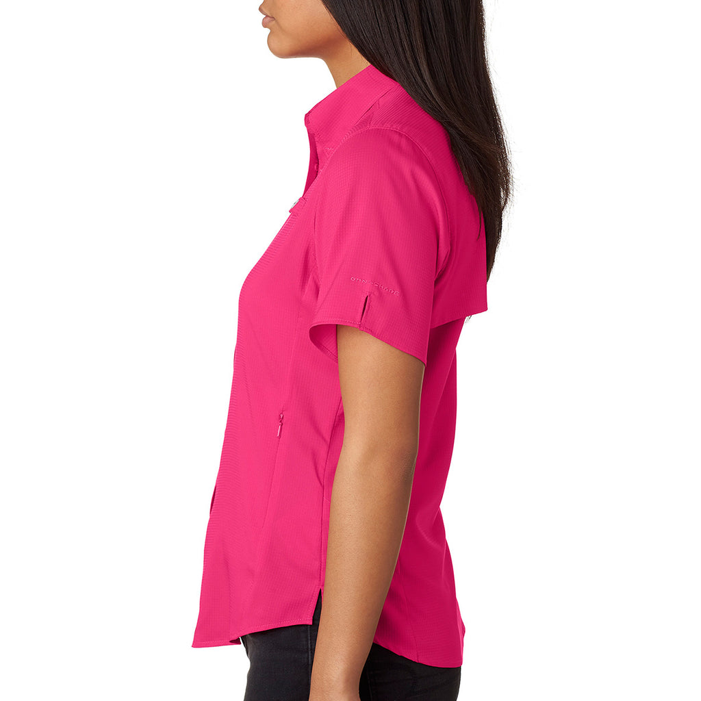 Columbia Women's Bright Rose Tamiami II S/S Shirt