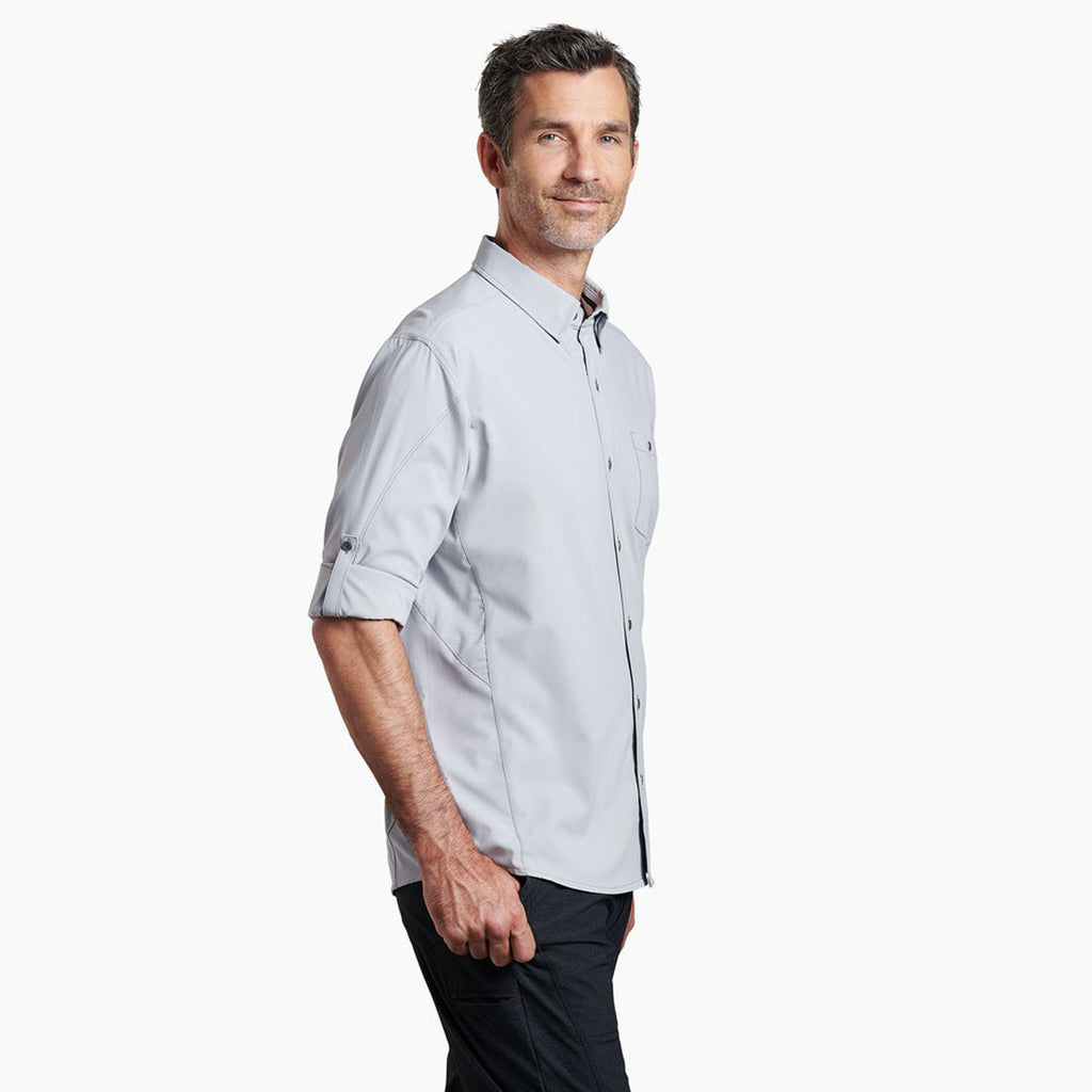 KUHL Men's Cloud Grey Bandit Long Sleeve Shirt