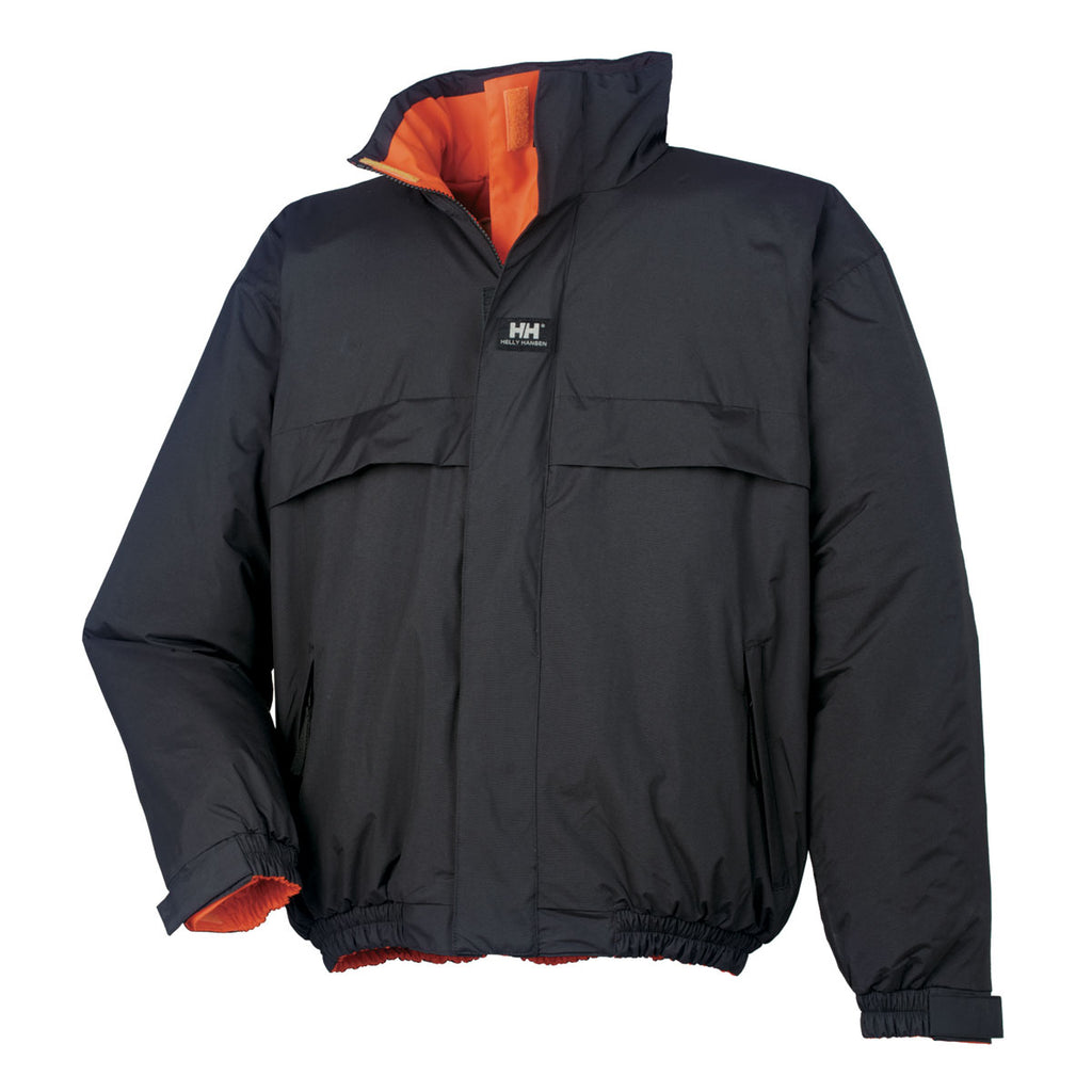 Helly Hansen Men's High Visibility Orange Motala Reversible Jacket