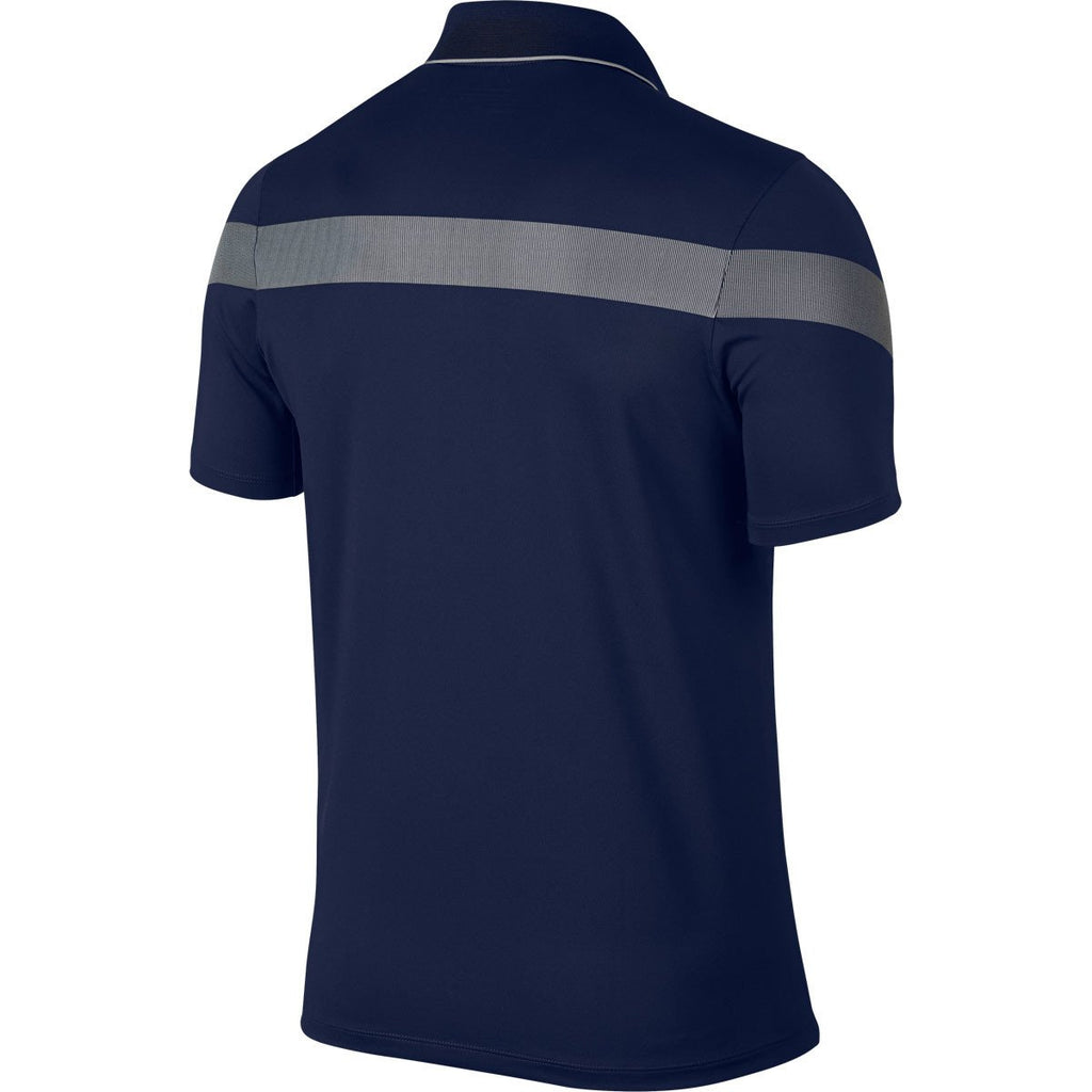 Nike Men's Midnight Navy/Photo Blue Momentum Framing Commander Polo