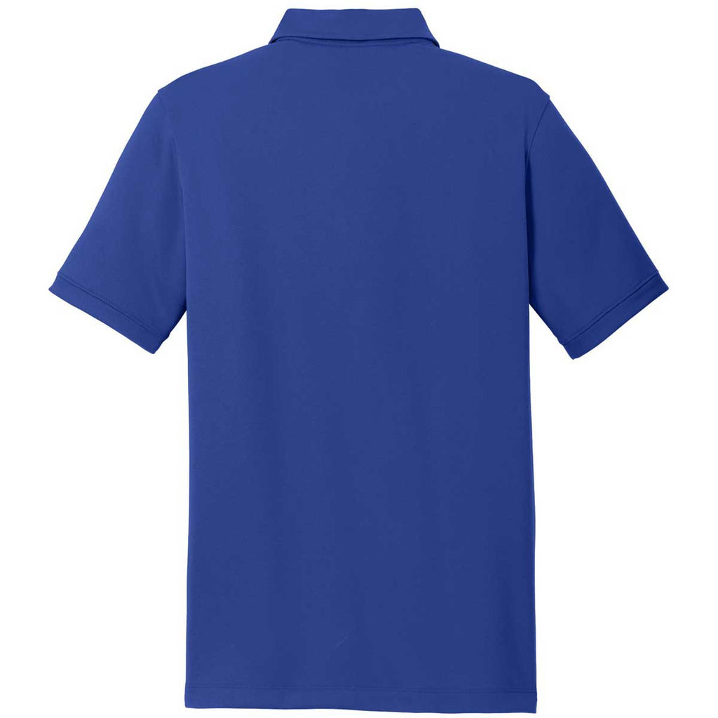 Nike Men's Deep Royal Dri-FIT Solid Icon Pique Polo