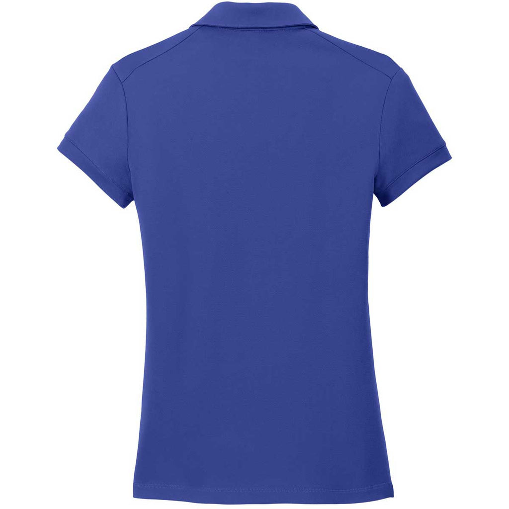 Nike Women's Deep Royal Dri-FIT Solid Icon Pique Polo