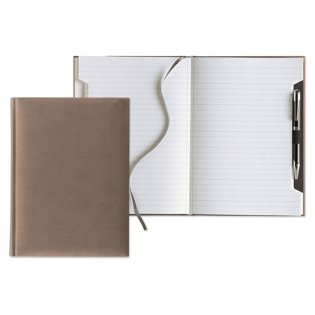 Castelli Taupe Tucson Scribe Medium Journal