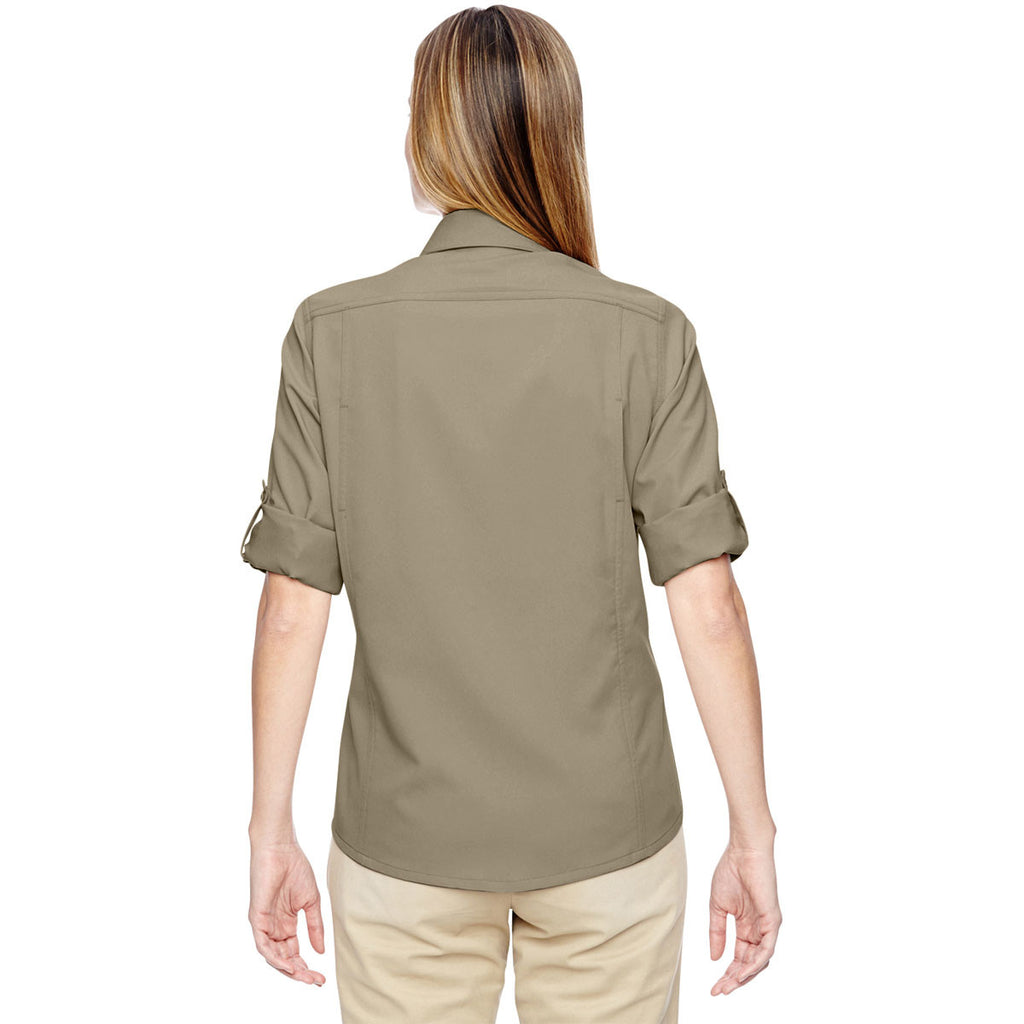 North End Women's Stone Excursion Concourse Performance Shirt