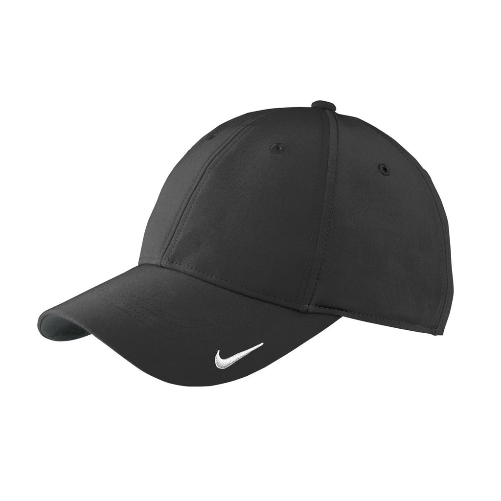 e828e28c66c03 Nike Black Swoosh Legacy 91 Cap. ADD YOUR LOGO