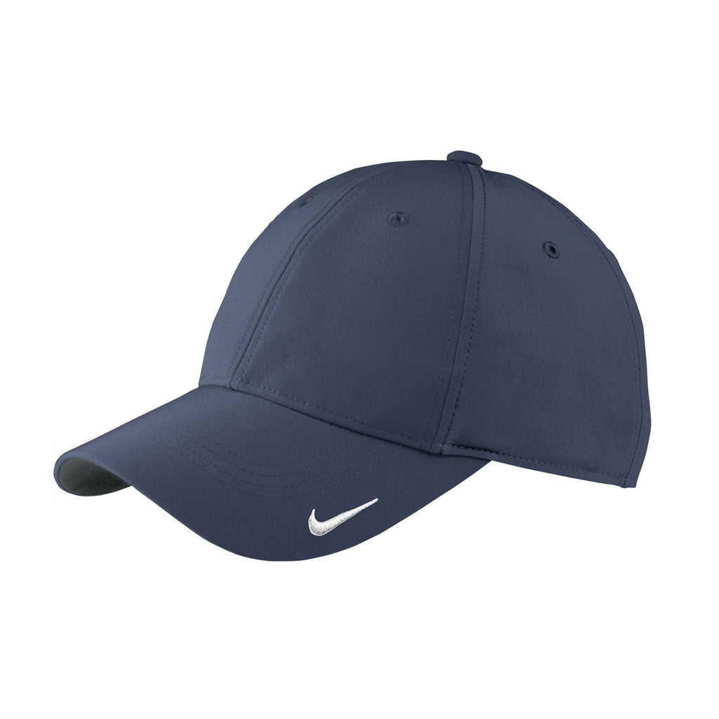 4cb21235be4 Nike Navy Swoosh Legacy 91 Cap. ADD YOUR LOGO
