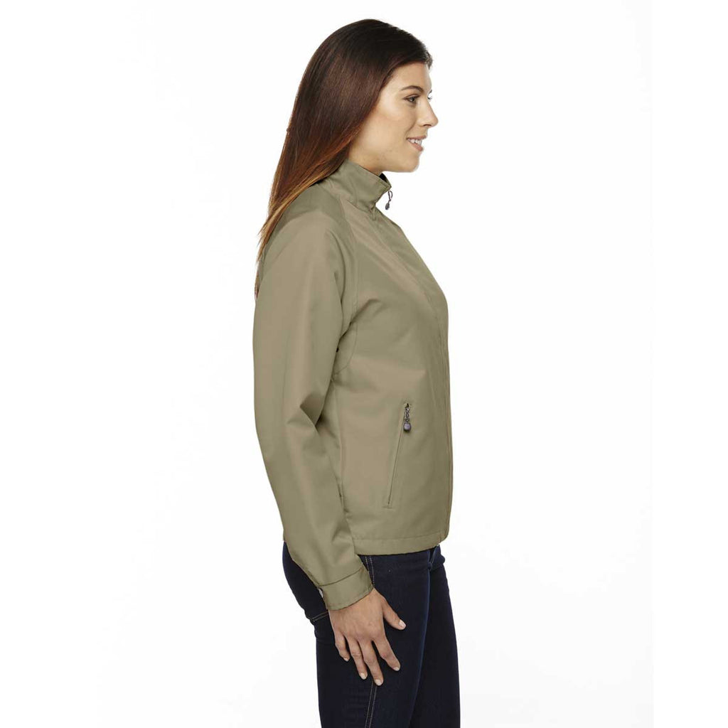 North End Women's' Limestone Mid-Length Micro Twill Jacket