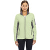 North End Women's' Lime Sherbert Microfleece Jacket