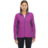 North End Women's' Plum Rose Microfleece Jacket