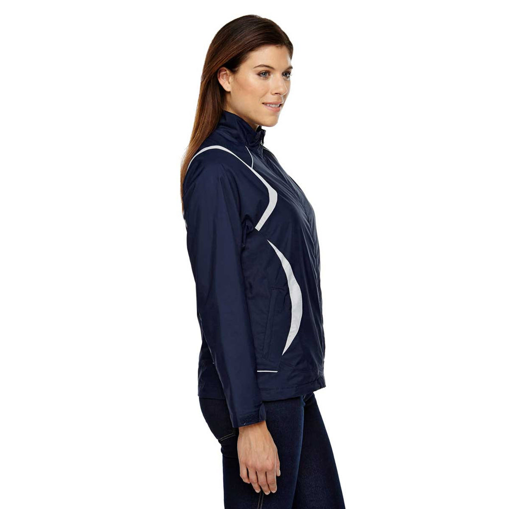 North End Women's Classic Navy Venture Mini Ottoman Jacket