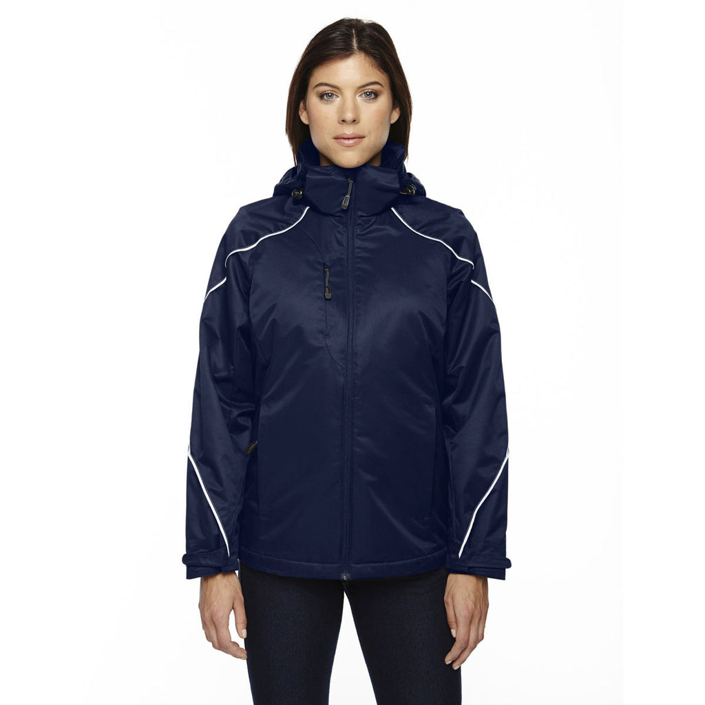 North End Women's Night Angle 3-In-1 Jacket with Bonded Fleece Liner