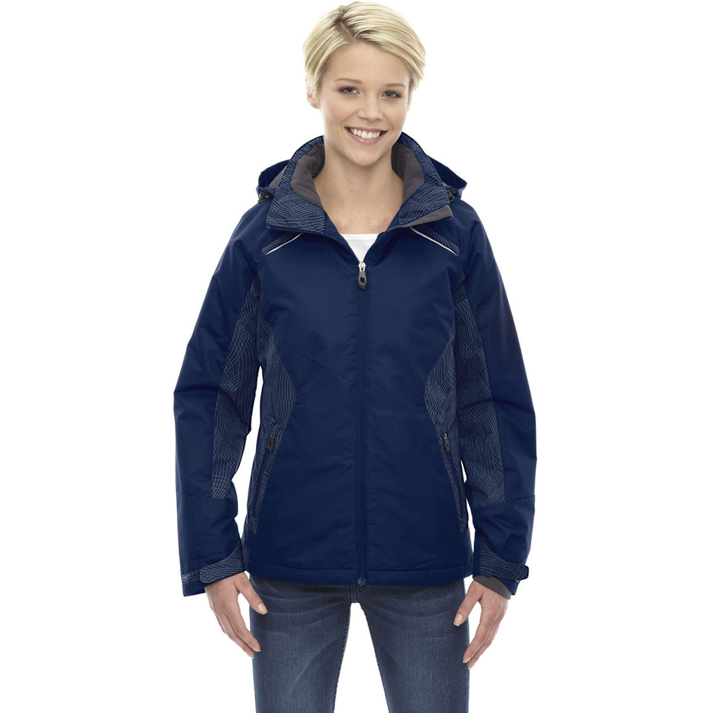 North End Women's Night Linear Insulated Jacket with Print