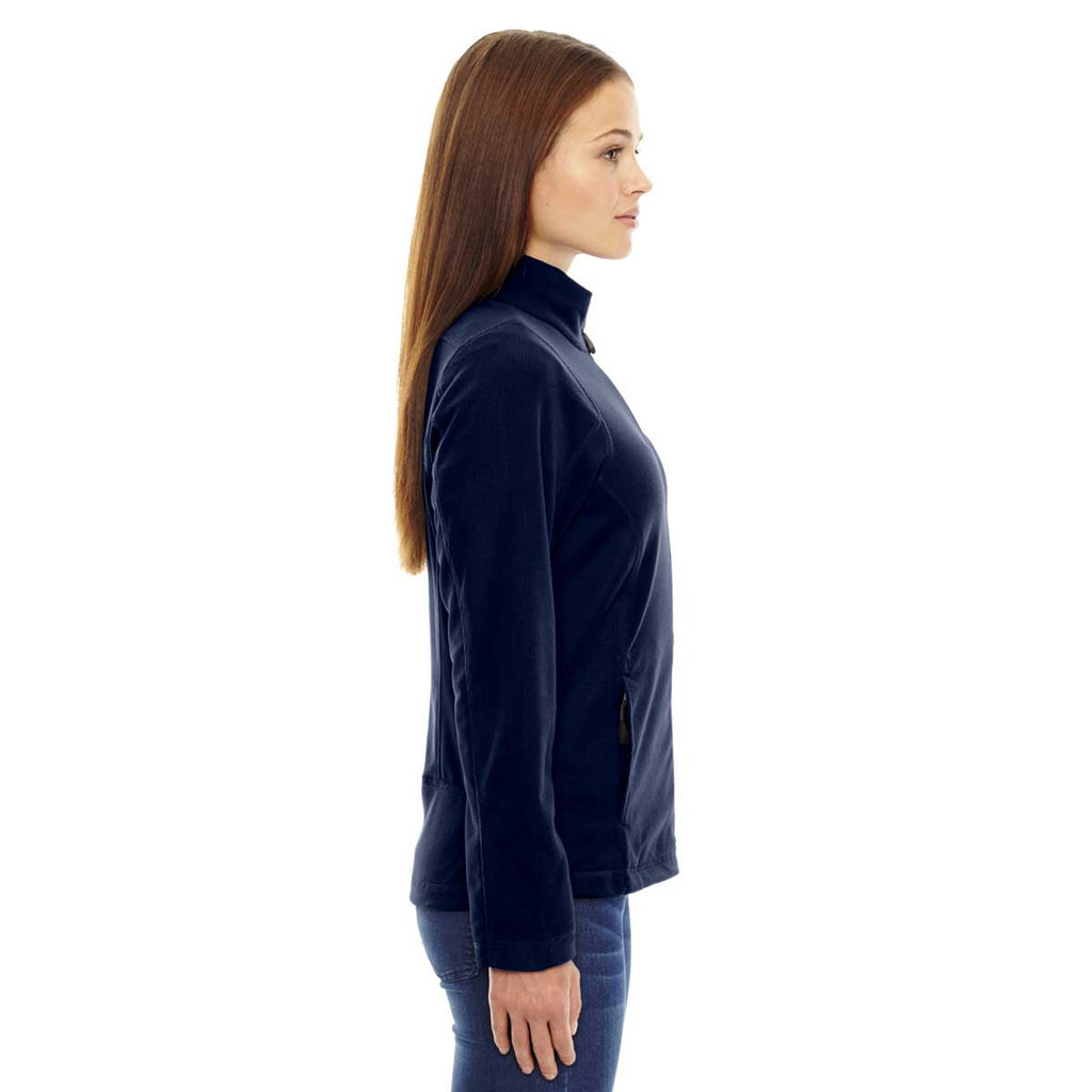 North End Women's Night Generate Textured Fleece Jacket