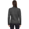 North End Women's Carbon Trace Printed Fleece Jacket