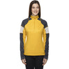 North End Women's Campus Gold Quick Performance Interlock Half-Zip Top