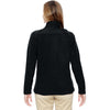 North End Women's Black Excursion Trail Fabric-Block Jacket