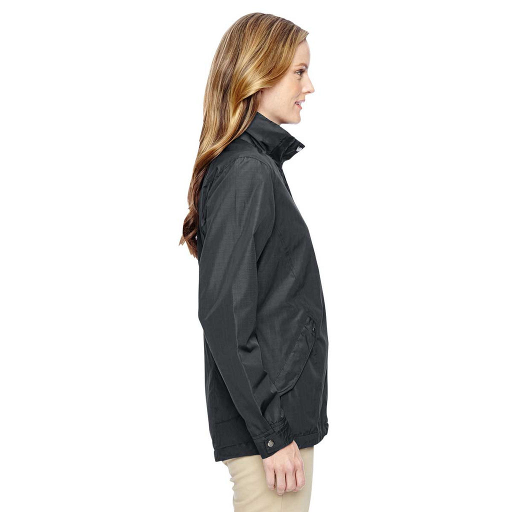 North End Women's Graphite Excursion Transcon Lightweight Jacket with Pattern