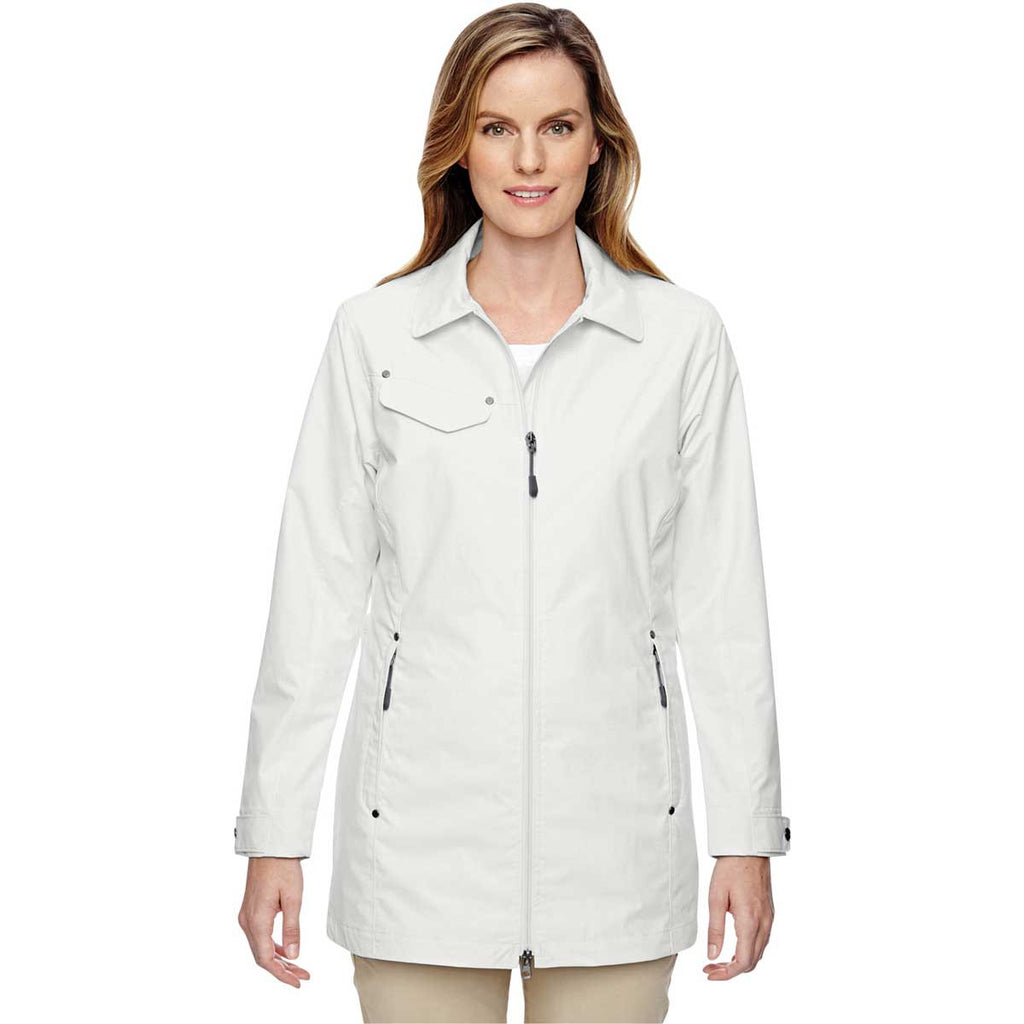 North End Women's Crystal Quartz Excursion Jacket with Fold Down Collar
