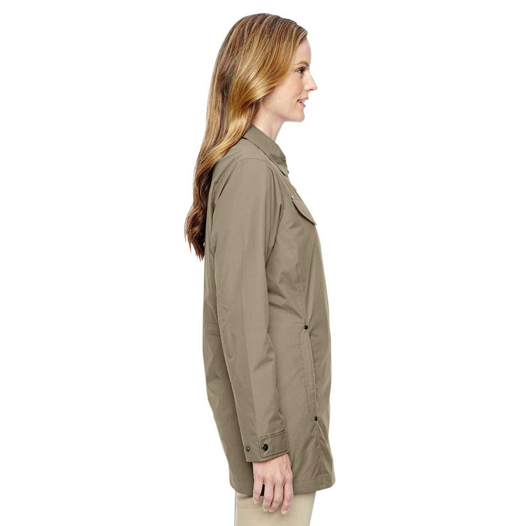 North End Women's Stone Excursion Jacket with Fold Down Collar