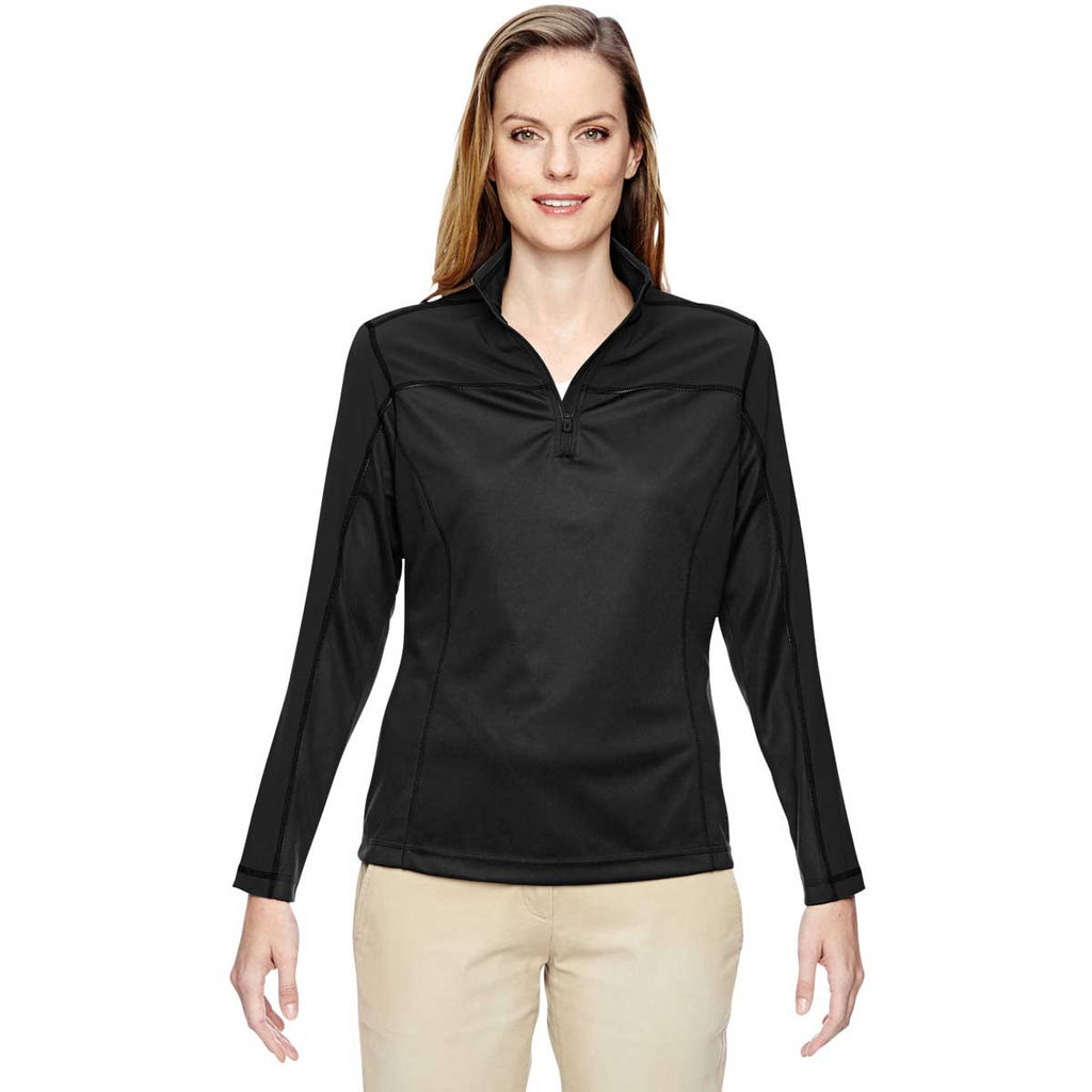 North End Women's Black Excursion Circuit Performance Half-Zip
