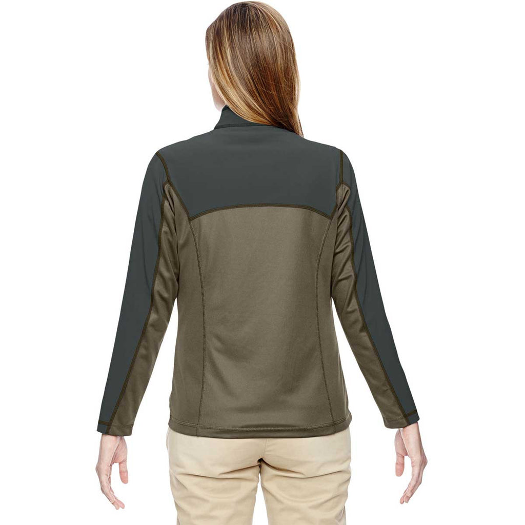 North End Women's Dark Oakmoss Excursion Circuit Performance Half-Zip