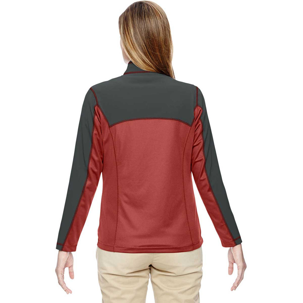 North End Women's Rust Excursion Circuit Performance Half-Zip