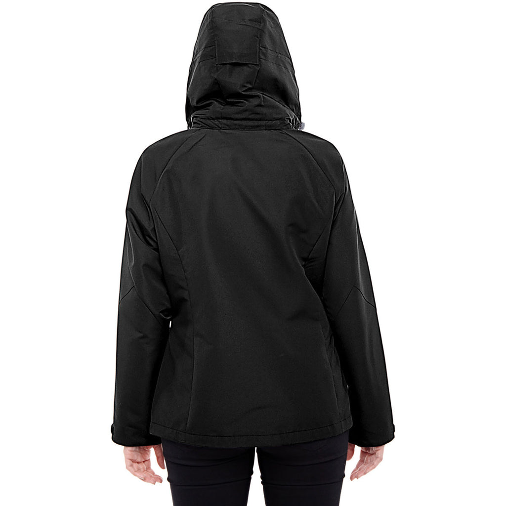North End Women's Black/Graphite Insight Interactive Shell Jacket
