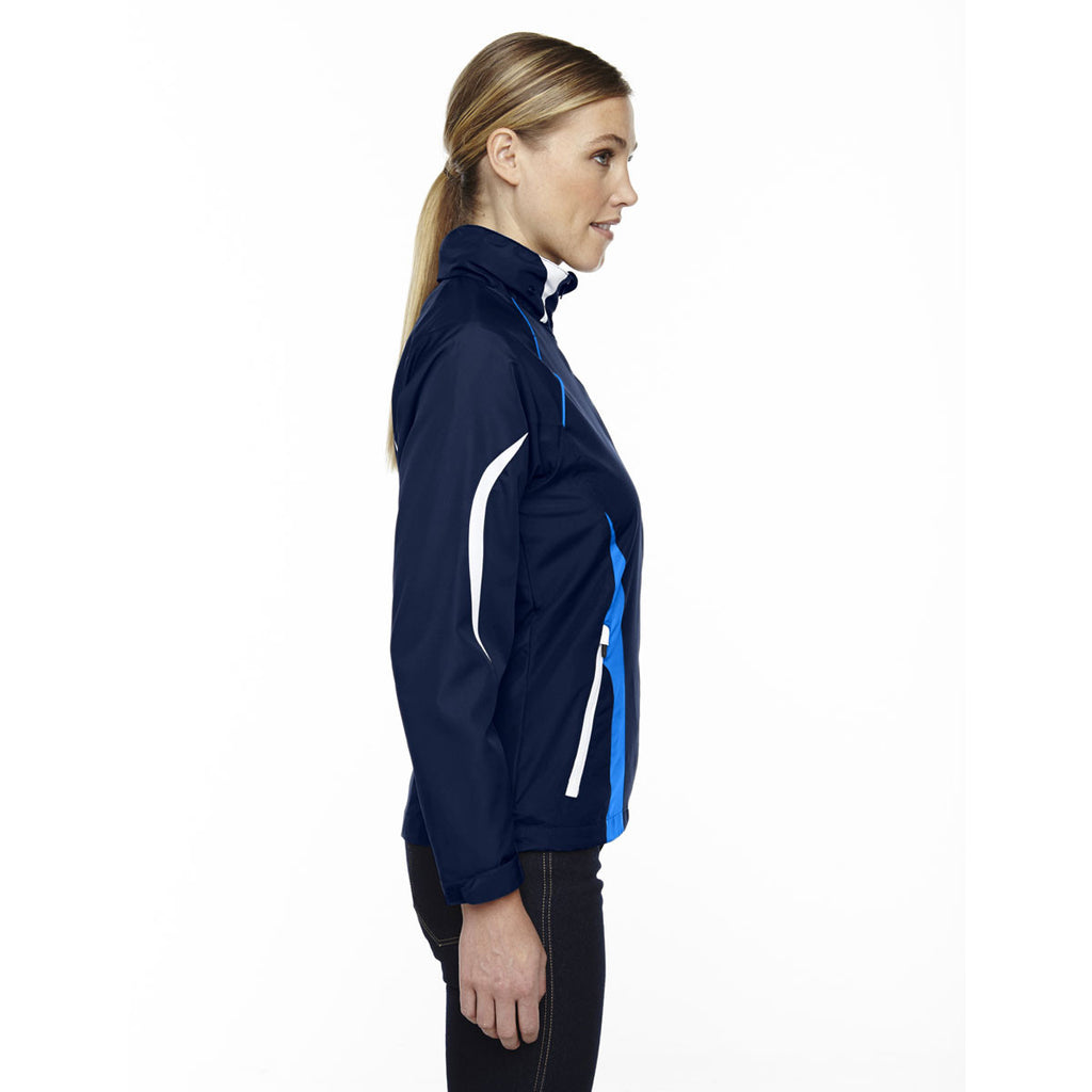 North End Women's Night Impact Active Lite Colorblock Jacket
