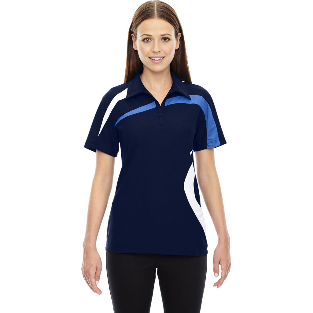 North End Women's Night Impact Performance Colorblock Polo
