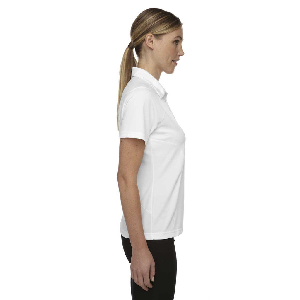 North End Women's White Dolomite UTK Performance Polo