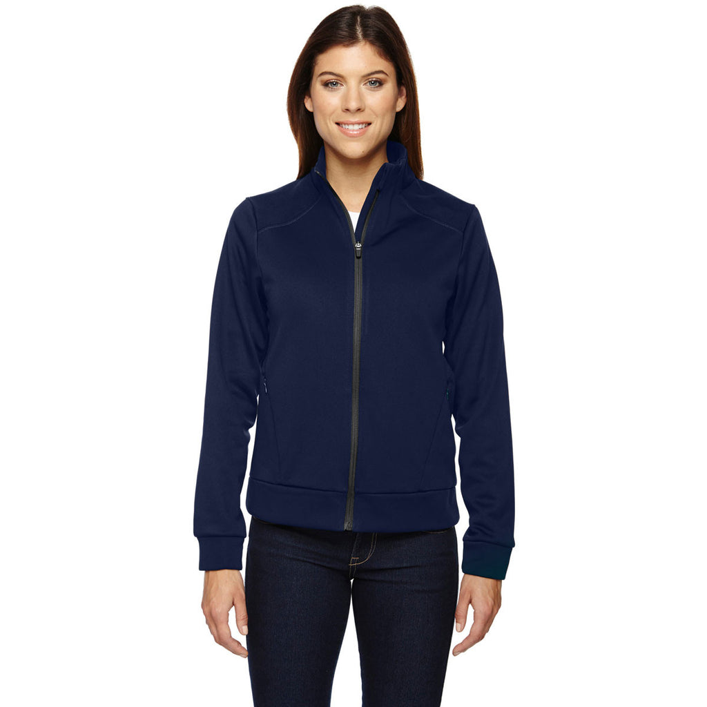 North End Women's Night Evoke Bonded Fleece Jacket