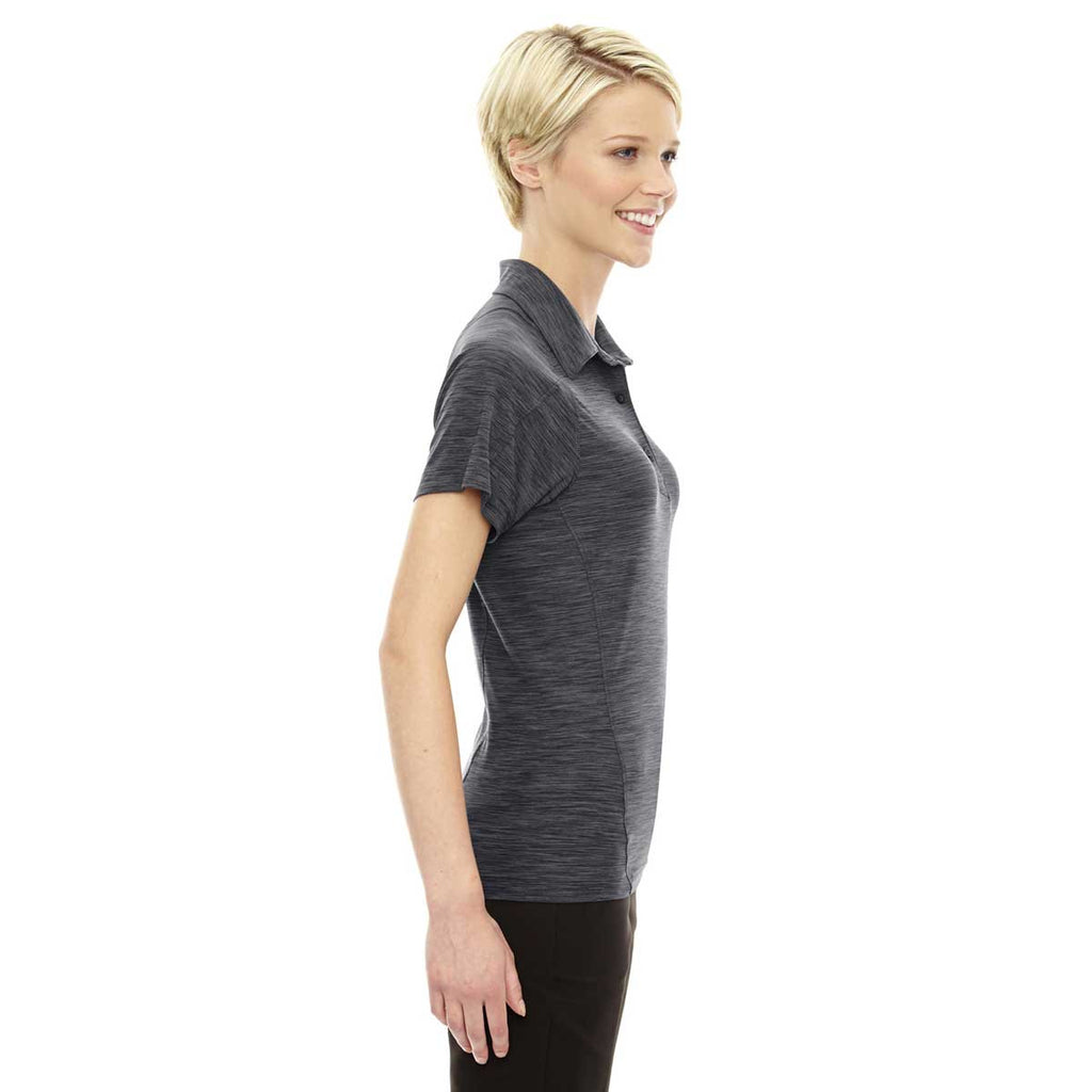 North End Women's Carbon Performance Stretch Polo
