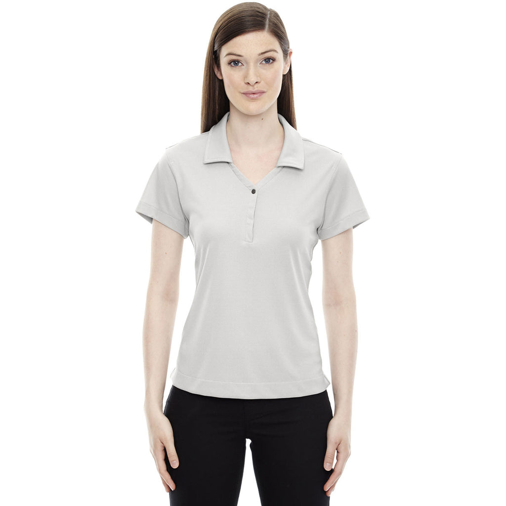 North End Women's Concrete Evap Quick Dry Performance Polo