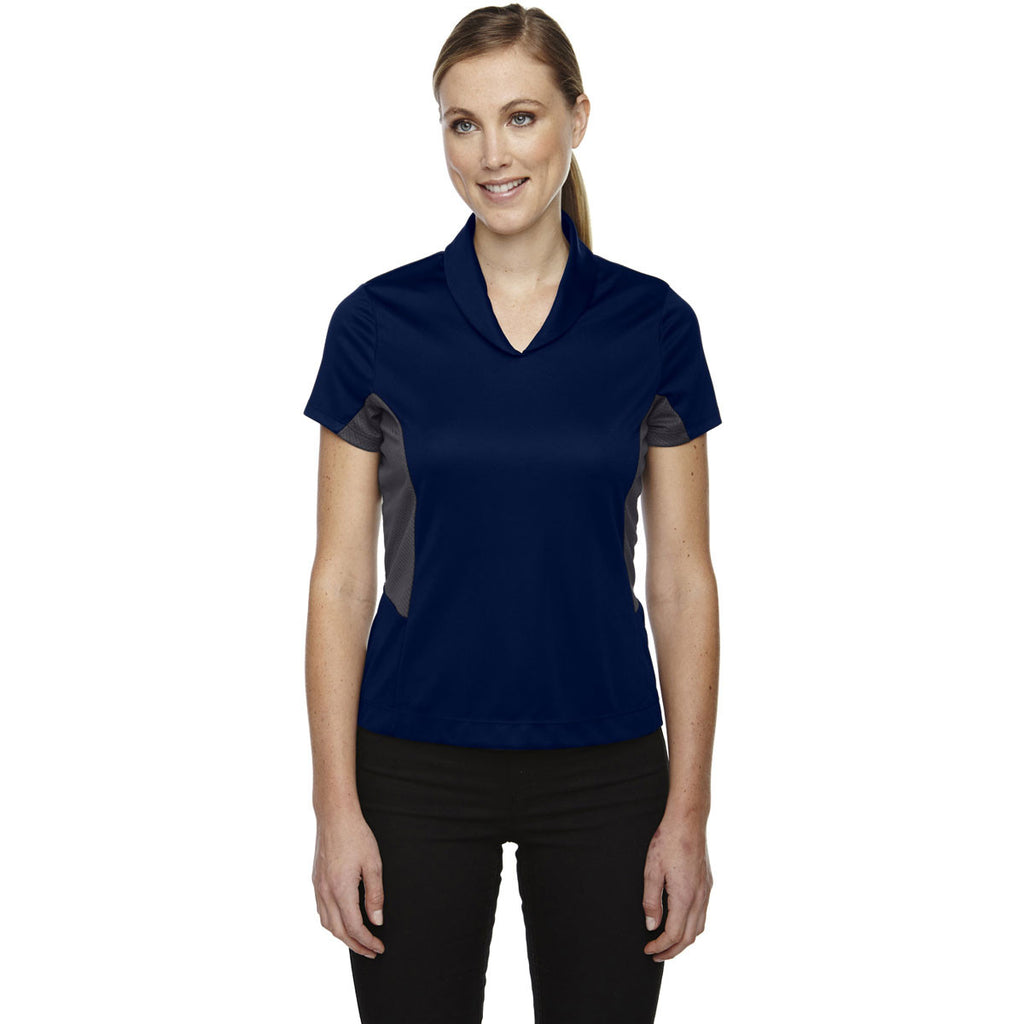 North End Women's Night Rotate Quick Dry Performance Polo