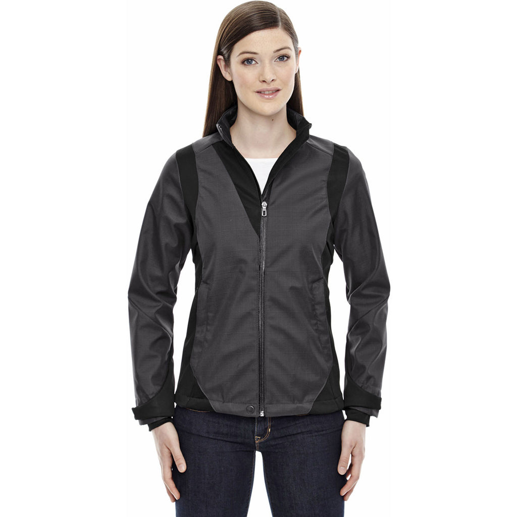 North End Women's Carbon Bonded Jacket with Heat Reflect Technology