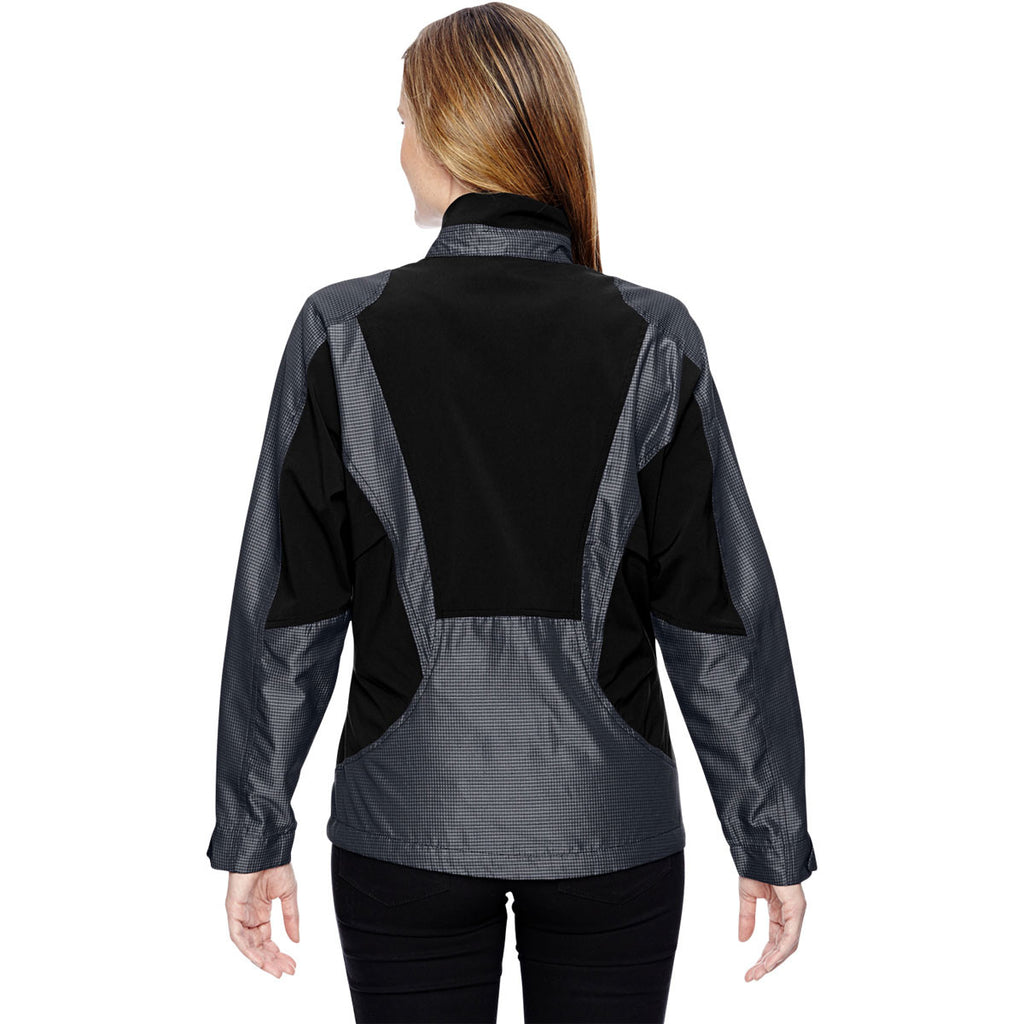 North End Women's Carbon Two-Tone Lightweight Jacket