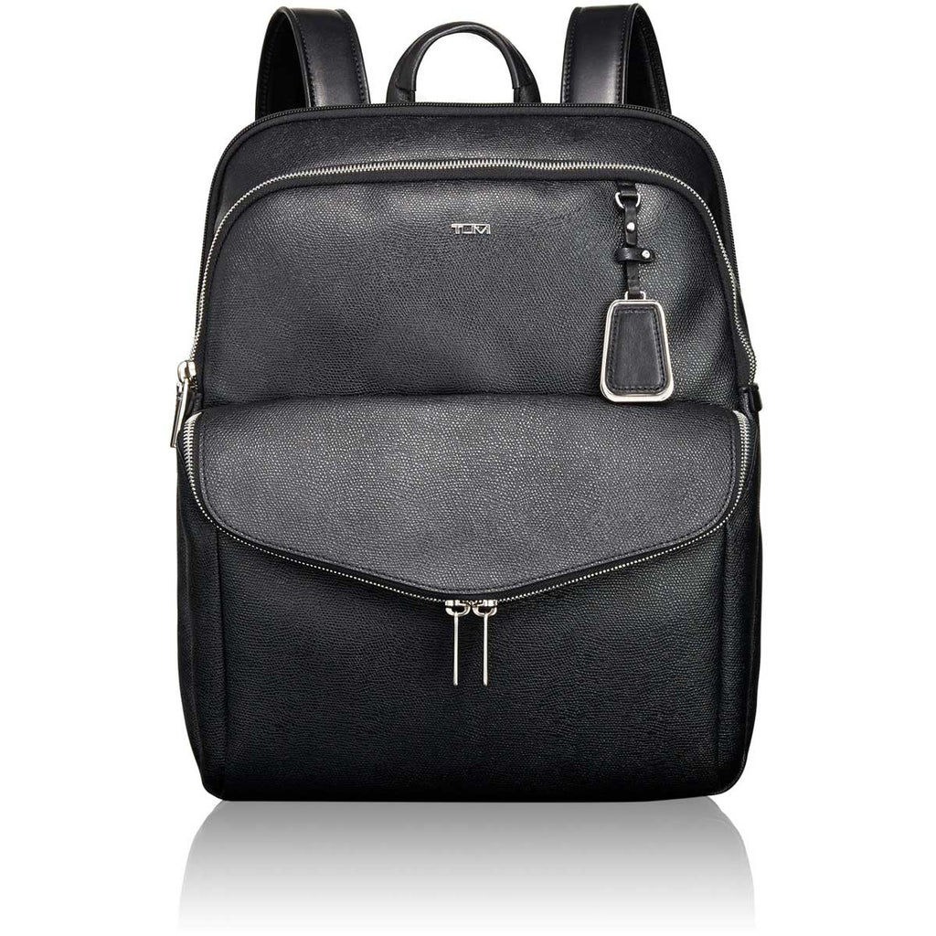025d0fac0cc TUMI Black Harlow Backpack. ADD YOUR LOGO