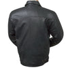 Burk's Bay Men's Black Lamb Driving Jacket