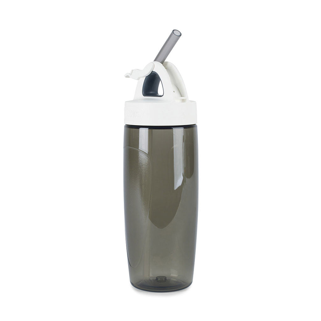 Thermos Charcoal Sport Bottle with Covered Straw- 24 oz.