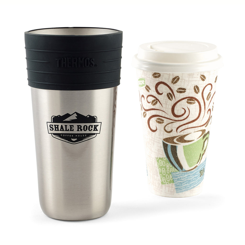 Thermos Stainless Steel Coffee Cup Insulator-20oz