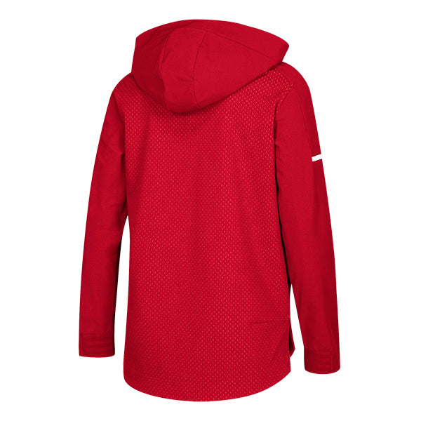 adidas Women's Power Red/White Squad Jacket