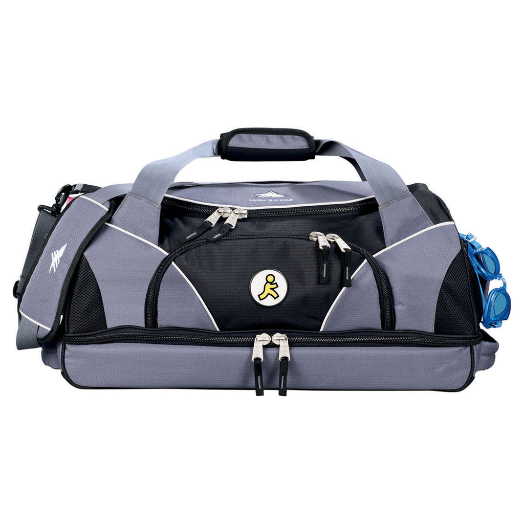 "High Sierra Charcoal 24"" Crunk Cross Sport Duffel Bag"