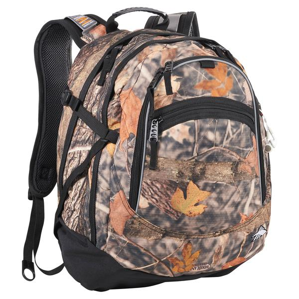 High Sierra Camouflage Fat-Boy Backpack